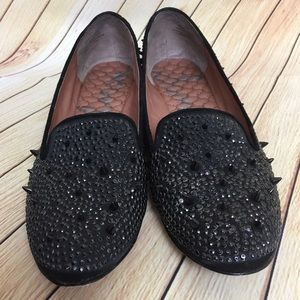bc52986aba287 Sam Edelman Shoes - Sam Edelman Adena Black Studded Shoes Size 8.5M